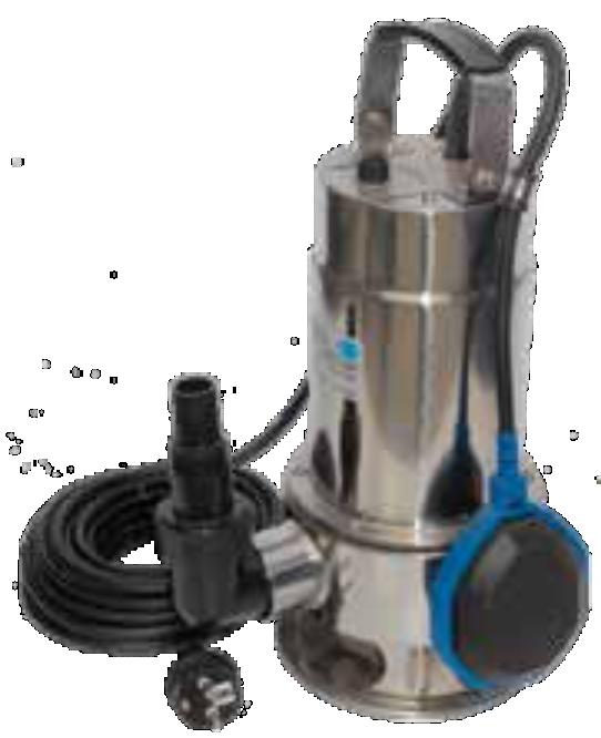 Bomba de achique aguas limpias XKS 250S PYD