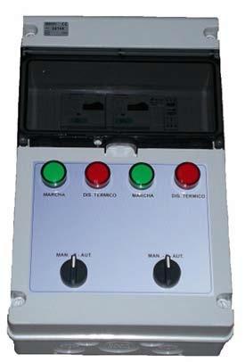 Cuadro grupo de presión  TAMEGA  Dos bombas (trifasicas) hasta 4cv
