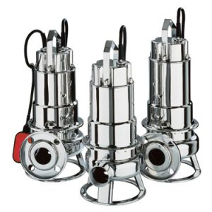 Bomba sumergible aguas fecales  DW VOX  M150A (con regulador de nivel)   EBARA