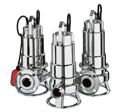Bomba sumergible aguas fecales  DWF VOX  M100A (con regulador de nivel)   EBARA